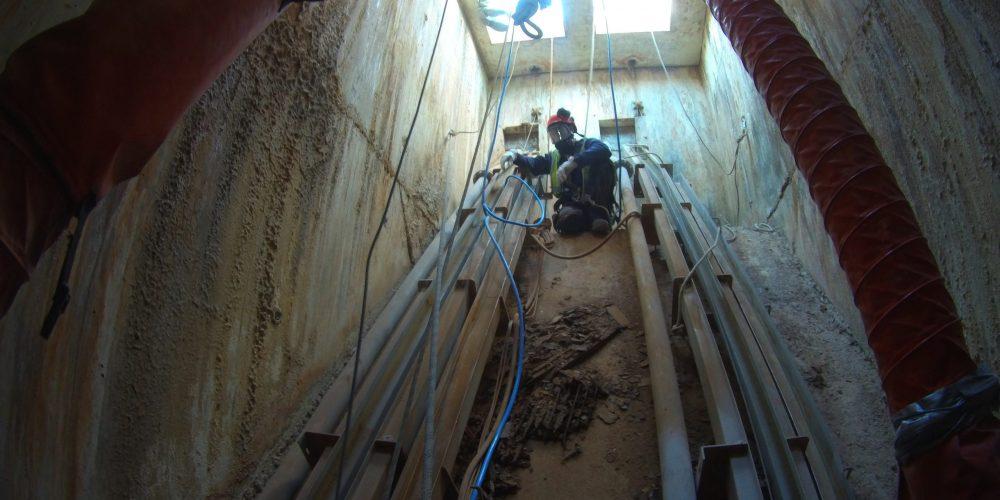 Inspection et travaux dans des puits sous H2S